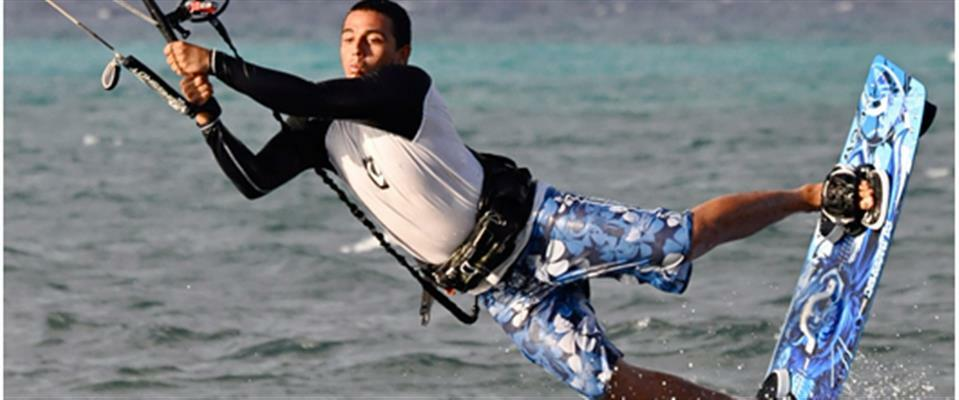 Kiteboarding Downwinder