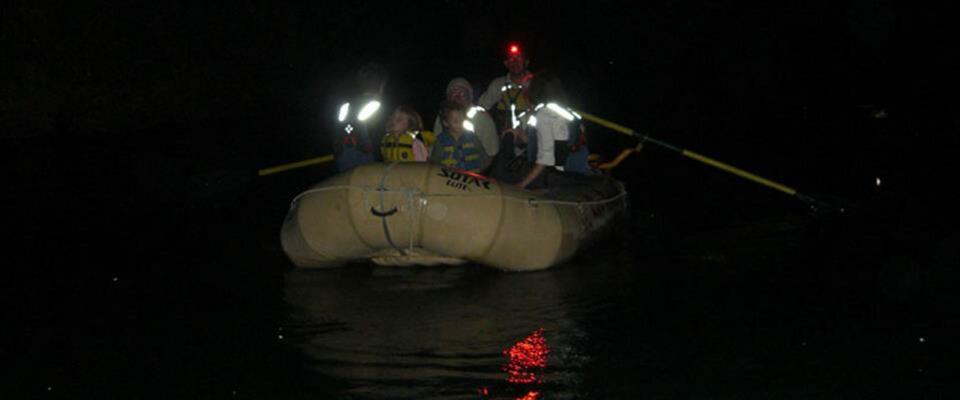 Peñas Blancas RiverSafari Floating tourClass I Twilight