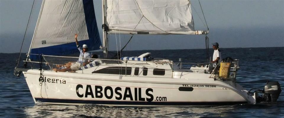 Alegria: 33′ Hunter Sailboat