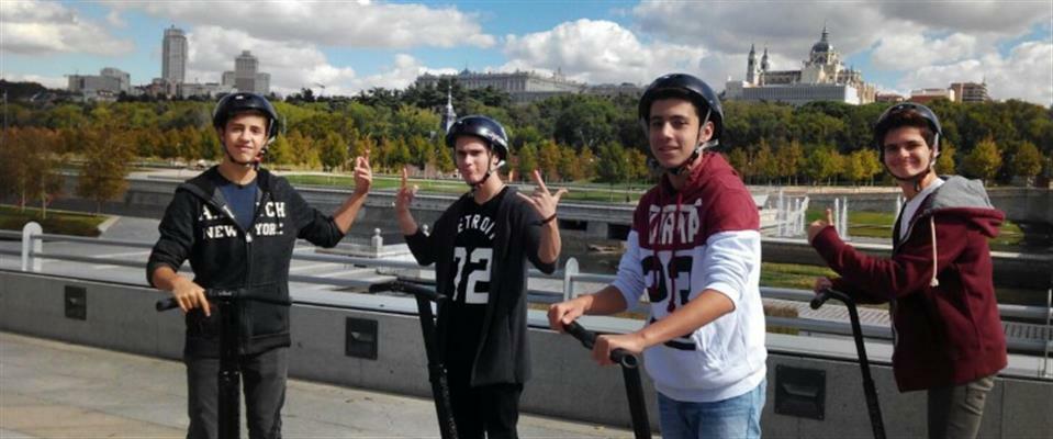 Segway Tour Madrid Río – 1.5 Horas