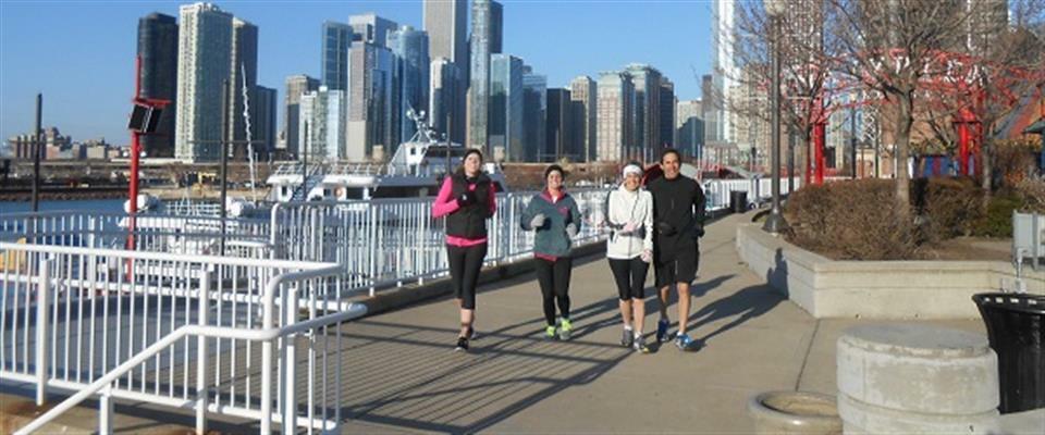 Chicago River Navy Pier