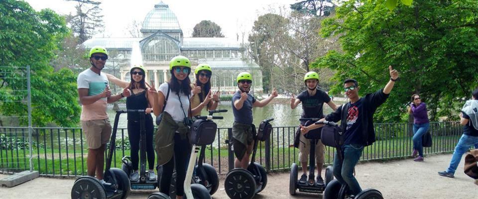 Parque del Retiro Segway Tour