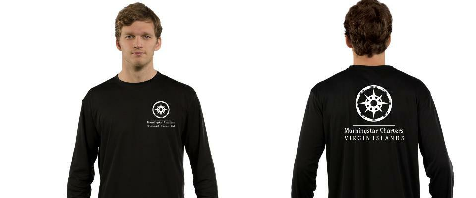 Morningstar Charters Rash Guard* Black