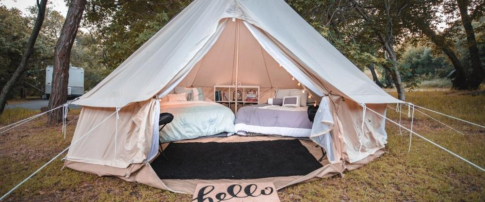 Beals Point Glamping - Queen Size Bed 2 people Max
